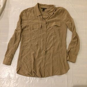 Victoria's Secret Long Sleeve Button Down Shirt S